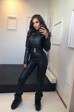 Yvels Bogas Black Jumpsuit