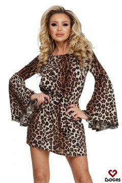 Pursy Bogas Brown Day Dress