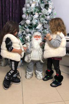 Clyti Bogas Beige Vests Kids