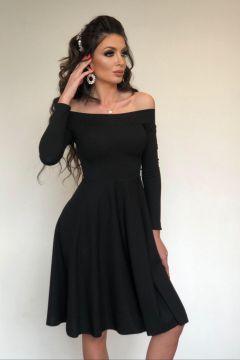 Feefy Bogas Black Evening Dress