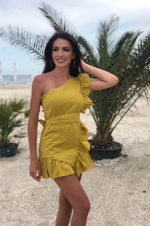 Toffix Bogas Yellow Day Dress