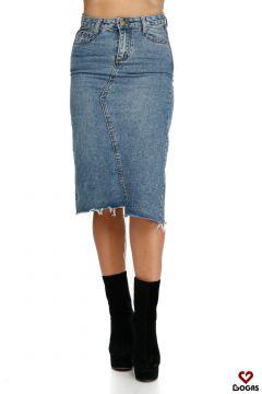 Fasto Bogas Blue Skirt