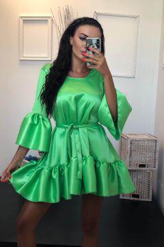 Fumyta Bogas Green Evening Dress