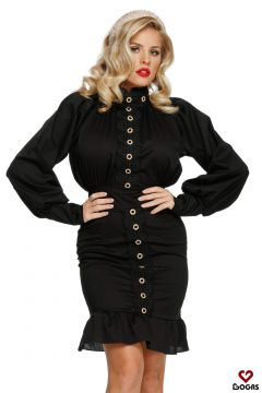 Prigat Bogas Black Evening Dress