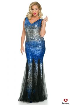 Belnyta Bogas Blue Evening Dress