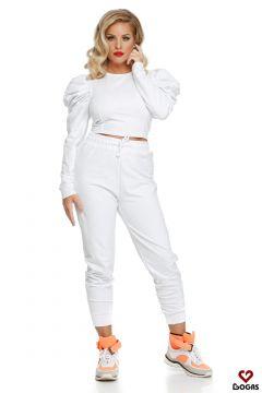Sahne Bogas White Suit