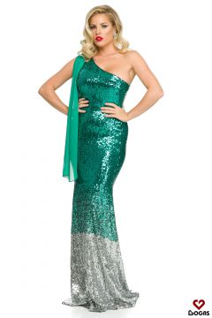 Quar Bogas Green Evening Dress