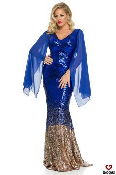 Amroq Bogas Blue Evening Dress
