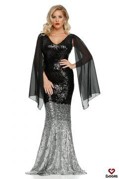 Amroq Bogas Black Evening Dress