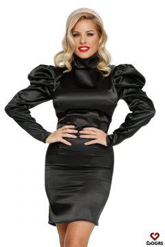 Answer Bogas Black Evening Dress