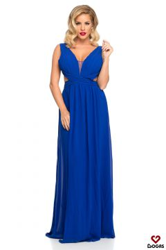 Zosta Bogas Blue Evening Dress
