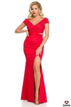 Documenty Bogas Red Evening Dress