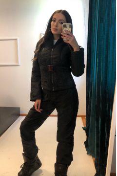 Bhania Bogas Black Winter Ski Suit